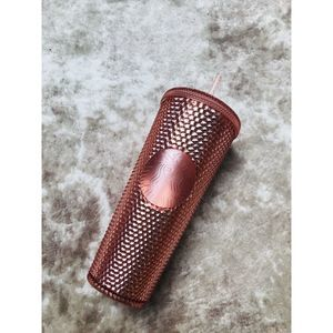 2019 Starbucks Rose Gold Studded Tumbler